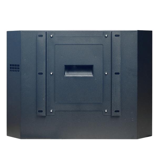 Armario para monitor exterior fino vista trasera