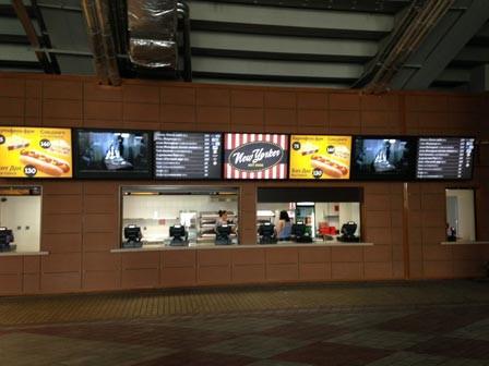paneles digitales para menús