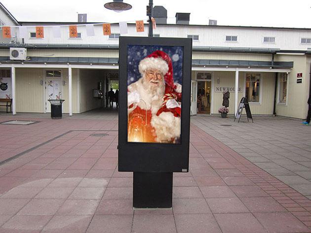 Digital Exterior la navidad