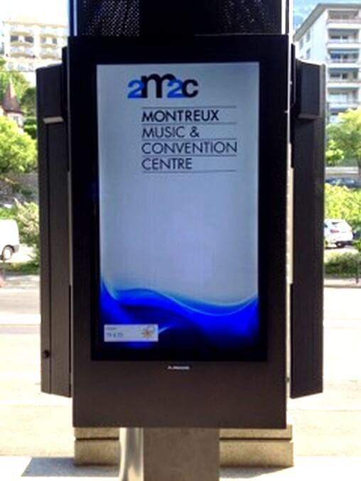 La señalización digital mejora las señales de tráfico