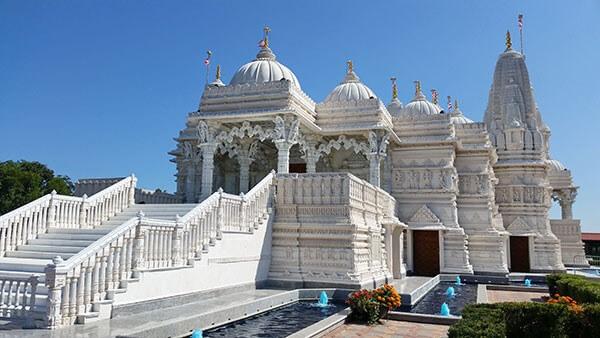 Templos hindús la señalización digital