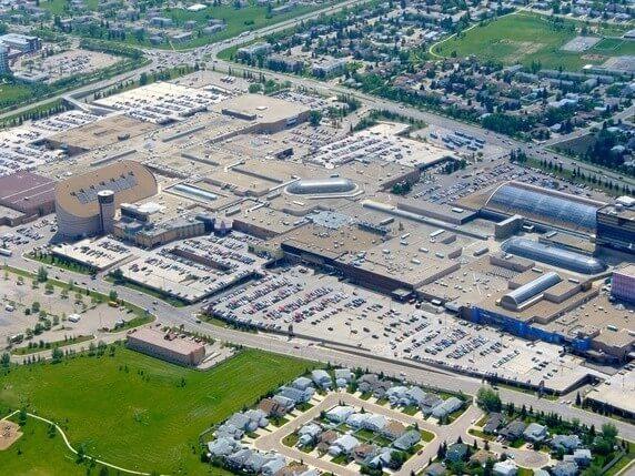 West Edmonton Mall Car Park