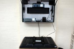 reproductor multimedia y el monitor