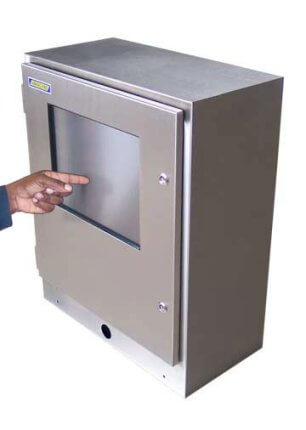 Armario de pantalla táctil resistente al agua