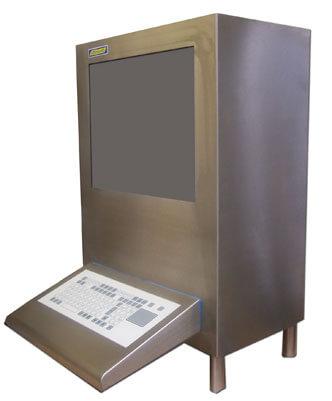 Armario para ordenador de aire sellado