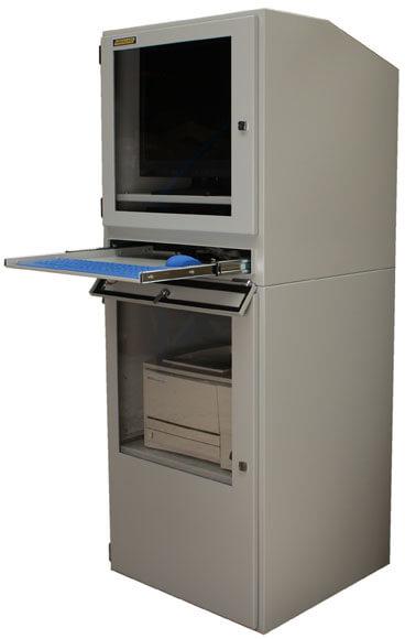 Armario Industrial Para Computadora Protecci 243 N Ip54 Con