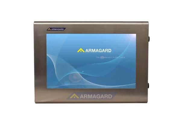 Armario LCD resistente al agua – vista frontal con pantalla | SDS-24