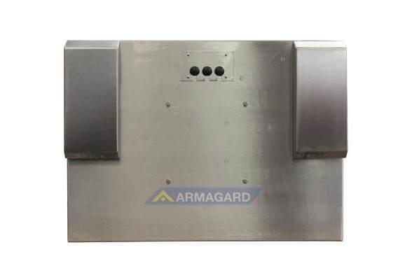 Armario LCD resistente al agua – vista trasera | SDS-24