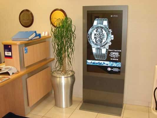 ver el Cartelería Digital Exterior usado en joyerías
