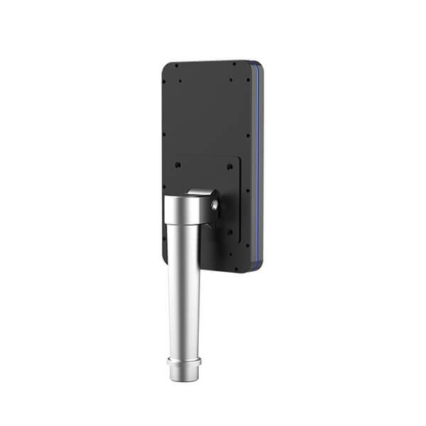 control de acceso por temperatura corporal - Vista trasera (en poste)