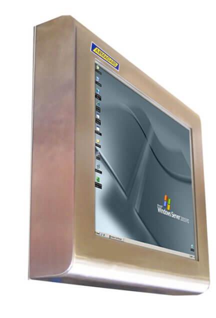 Monitor pantalla táctil Resistente al agua