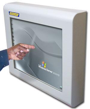 Monitor Industrial de pantalla táctil