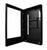 Menu Digital Exterior vista lateral cerraduras