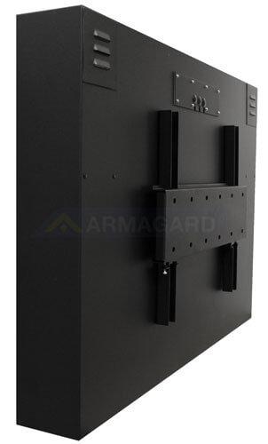 Pantallas LCD exterior vista trasera con soporte de montaje angular (opcional)