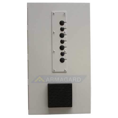 Gabinete de seguridad para cpu la placa posterior PC-CP01