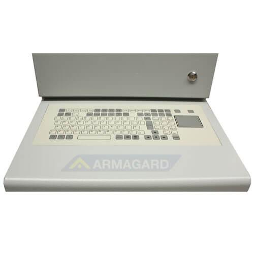 Armario PC Compacto PENC-300 detalle teclado touchpad