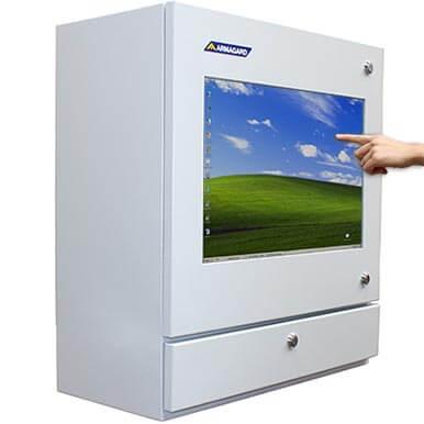 PENC-550 PC táctil para planta industrial