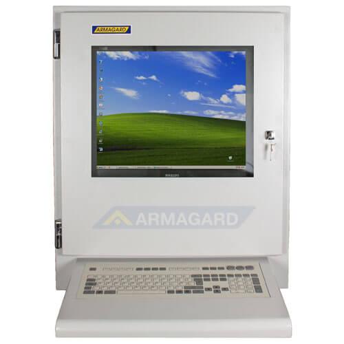 Armario con Teclado PENC-700 vista frontal con teclado integrado de membrana.