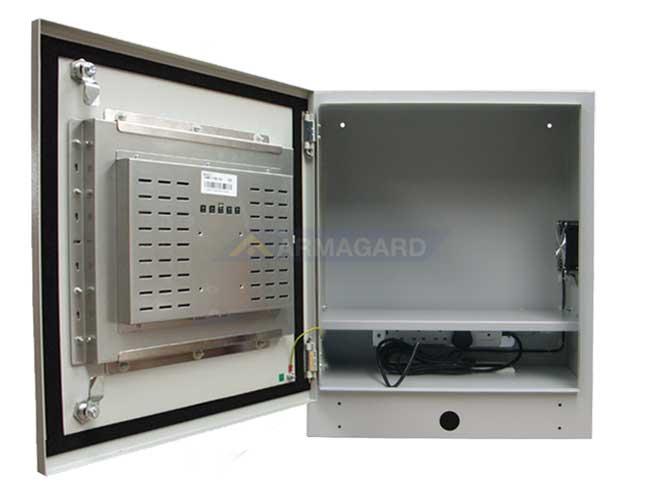 PC industrial tactil estanco - frente abierto | PENC-750