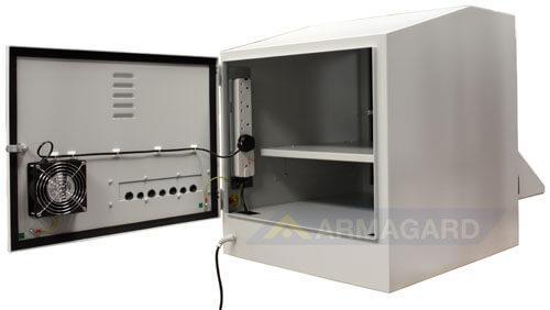 Armario PC IP54 PENC-800 atrás abierto