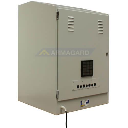 Gabinetes industriales para PC PENC-900 vista trasera