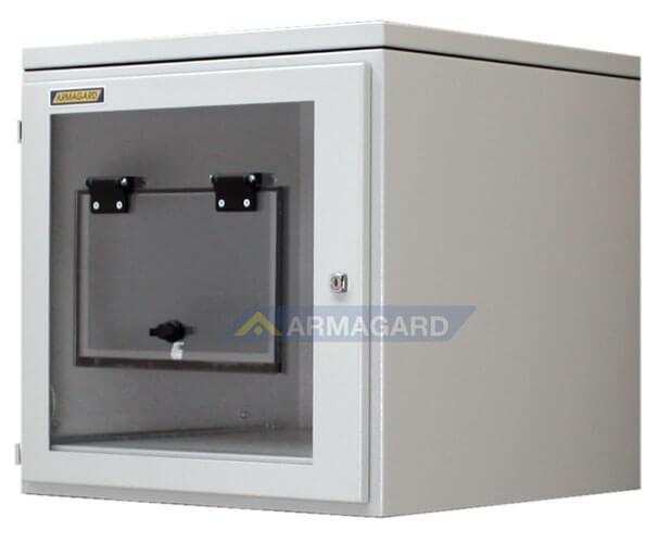 Armario Impresora Etiquetas IP54 acero ppri400 vista lateral