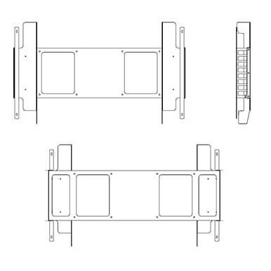 Samsung OH46F y OH55F Soporte a Pared