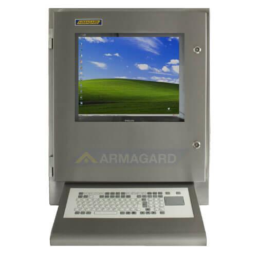 Armario con teclado inoxidable SENC-700 con teclado integrado