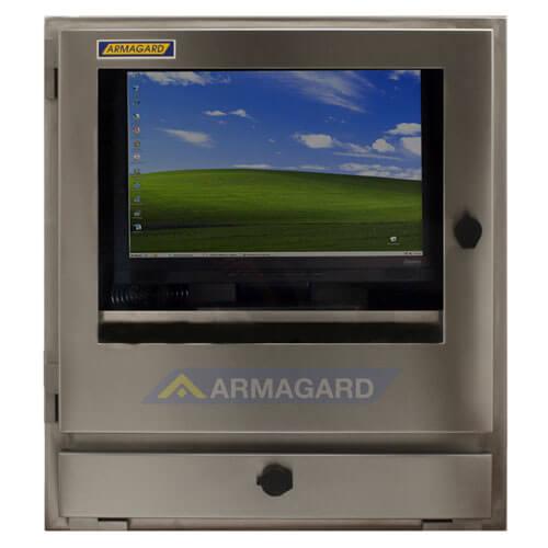 Armario pc IP65s frontal con pantalla   SENC-800