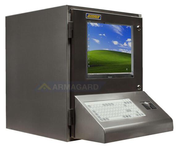 Armario ordenador Inox - lado derecho | SENC-900