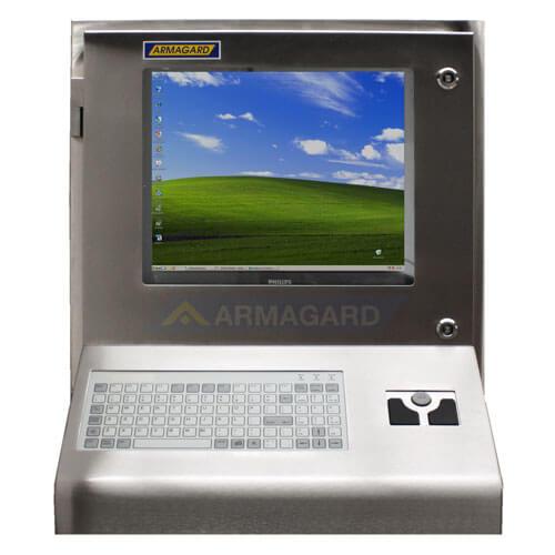 Armario ordenador Inox frente | SENC-900