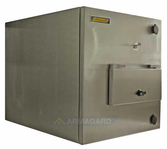 armario inox impresora zebra vista lateral