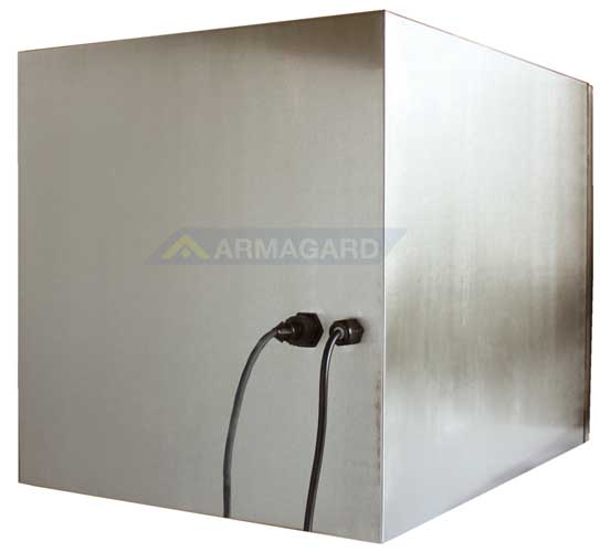 armario inox impresora zebra - vista trasera