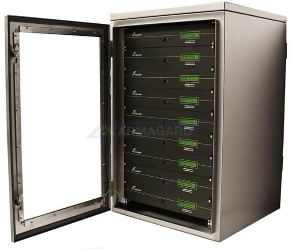Armario rack para servidores - capacidad máxima hasta 18U