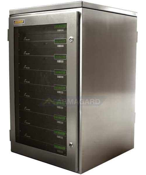 Armario rack para servidores - lado izquierdo