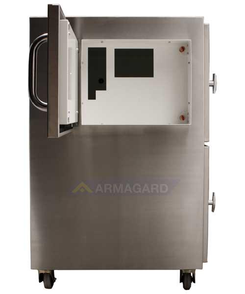 Impresora Temperatura Extrema puerta frontal abierta