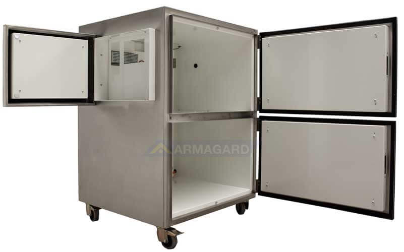 Impresora Temperatura Extrema todas las puertas abiertas