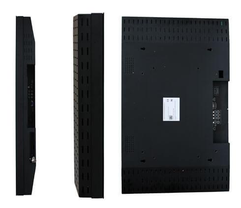 Laterales del monitor LCD