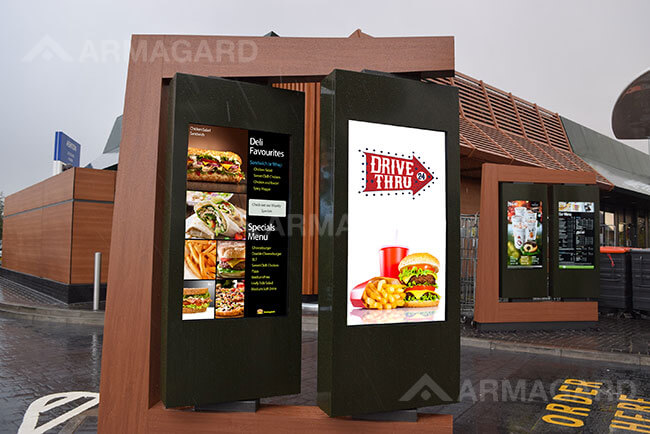 Panel Luminoso para Drive Thru