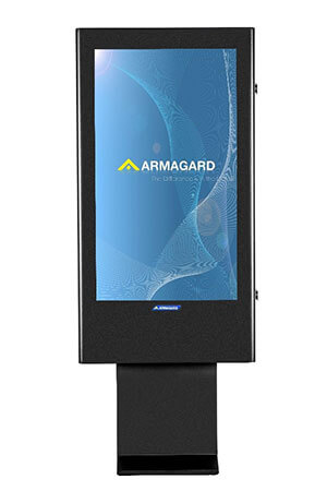 Armagard's 47 inch Totems Digitales Outdoor