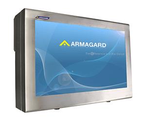 Armagard's Armario de acero inoxidable de 55