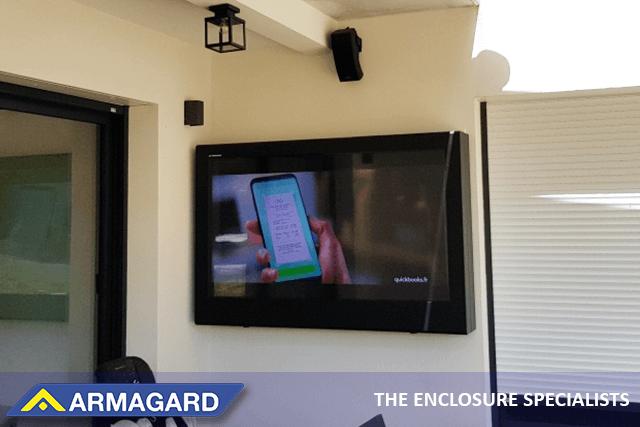El armario exterior para LCD de Armagard