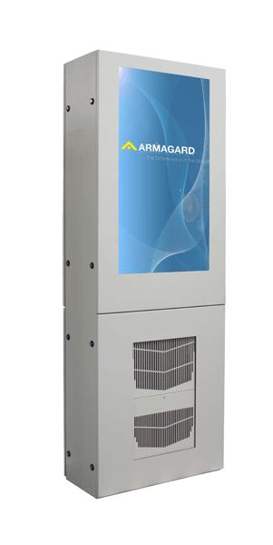 señalización digital de aire acondicionado